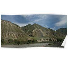Kyrgyzstan Valley Poster
