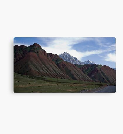 Colourful Mountains Canvas Print