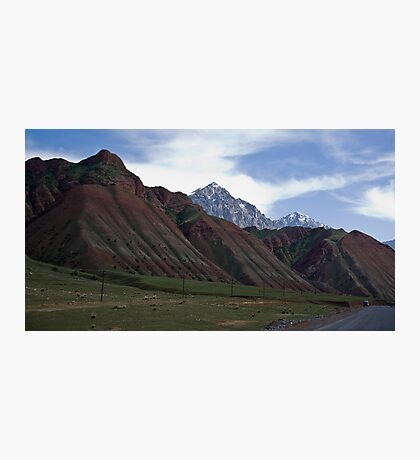 Colourful Mountains Photographic Print
