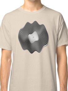 Warped Vinyl LP Record - Metallic - Steel Classic T-Shirt