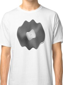 Warped Vinyl LP Record - Metallic - Steel Classic T-Shirt