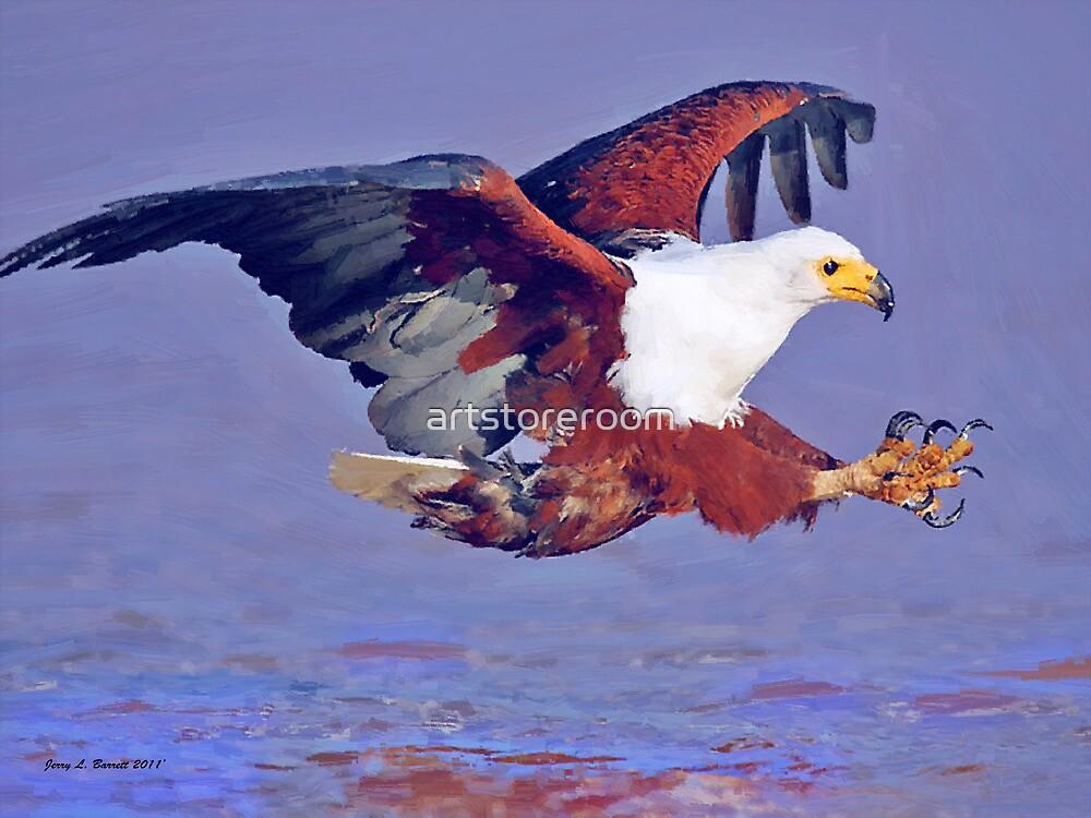 Eagle Strike by artstoreroom
