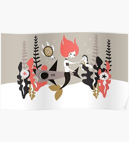 Underwater Whimsy Poster