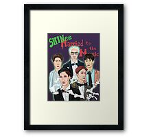 Married to the Music Framed Print
