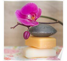 orchids and soaps Poster