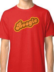 Boogie - Retro 70s - Logo Classic T-Shirt