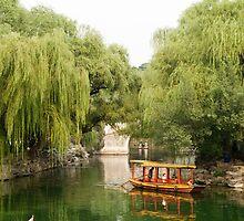 Beijing Summer Palace - Boat ride by imagekinesis