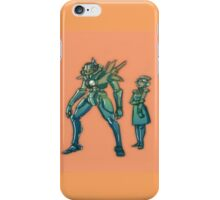 A robot and its Maiden iPhone Case/Skin