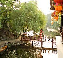 Beijing Summer Palace - Suzhou Street by imagekinesis