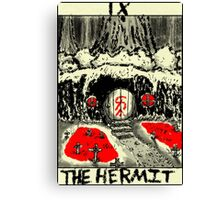 Tarot: The Hermit Canvas Print