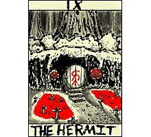 Tarot: The Hermit Photographic Print