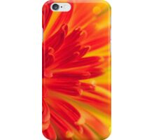 orange-red flower iPhone Case/Skin
