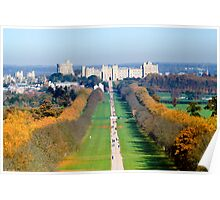 Long Walk Windsor Castle  Poster