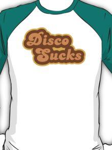 Disco Sucks - Retro 70s - Logo T-Shirt