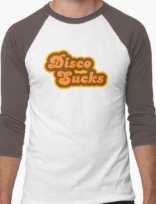 Disco Sucks - Retro 70s - Logo Men's Baseball ¾ T-Shirt