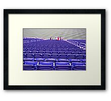 The game is over! Framed Print