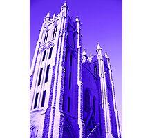 Grace Cathedral - Topeka, Kansas Photographic Print