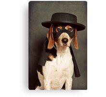 Even Zorro needs a best friend Canvas Print