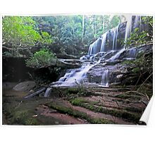 Down the Slide, Somersby Falls Poster