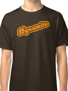 Dynamite - Retro 70s - Logo Classic T-Shirt
