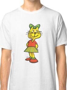 Sweet cat girl Classic T-Shirt