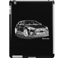 Sketch Veloster iPad Case/Skin