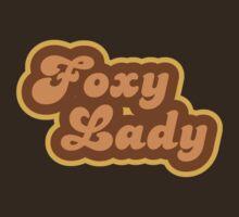 Foxy Lady - Retro 70s - Logo by graphix