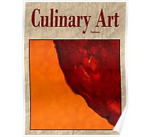 Culinary art, Salami and Butternut Squash Poster