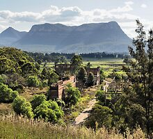 Shale Works - Glen Davis NSW Australia by Bev Woodman