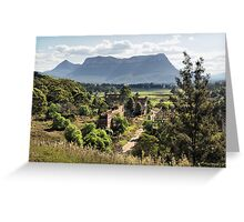 Shale Works - Glen Davis NSW Australia Greeting Card