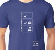 The Evolution of Goats Unisex T-Shirt