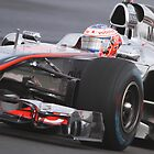 Jenson Button - Mclaren MP4-26 - Silverstone 2011 by MSport-Images