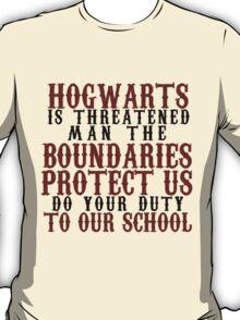 Hogwarts in Threatened T-Shirt