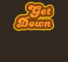 Get Down - Retro 70s - Logo Unisex T-Shirt