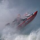 Power boat racing by Nik Taylor