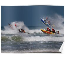 Power boat racing Poster