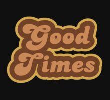 Good Times - Retro 70s - Logo One Piece - Long Sleeve