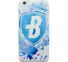 Blue Coats DCI Watercolor Logo iPhone Case/Skin