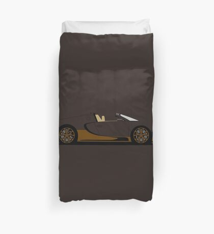 2014 Bugatti Veyron 16.4 Grand Sport Vitesse Bugatti Legend Rembrandt Duvet Cover