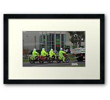 posties Framed Print
