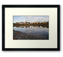 Edmonton area Framed Print