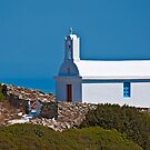 Little church by the sea by Konstantinos Arvanitopoulos