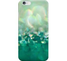 Green Water Drops iPhone Case/Skin