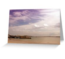 Leabgarrow Harbour, Arranmore Greeting Card