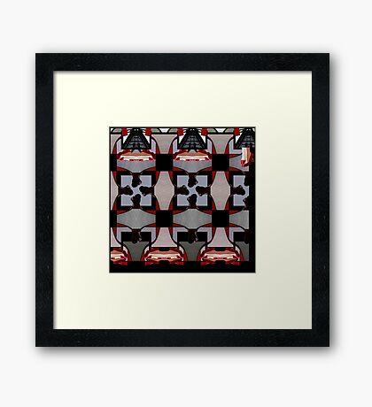 Dollhouse Levitation Framed Print