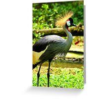 Royalty Strut Greeting Card