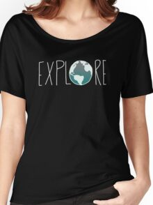 Explore the Globe III Women's Relaxed Fit T-Shirt