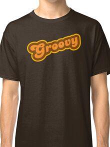 Groovy - Retro 70s - Logo Classic T-Shirt