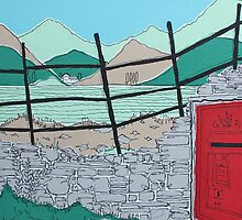 A Country Postbox by Adam Regester