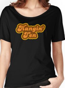Hangin' Ten - Retro 70s - Logo Women's Relaxed Fit T-Shirt